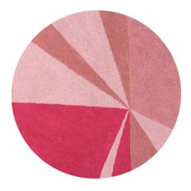 Vloerkleed Kinderkamer Giometric Pink