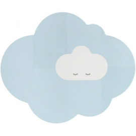 Speelmat Kinderkamer Head in the Clouds L Dusty Blue Quut