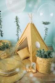 Tipi Tent / Speeltent Kinderkamer Honey Mustard