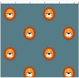 Behang Kinderkamer Lion Designed4kids