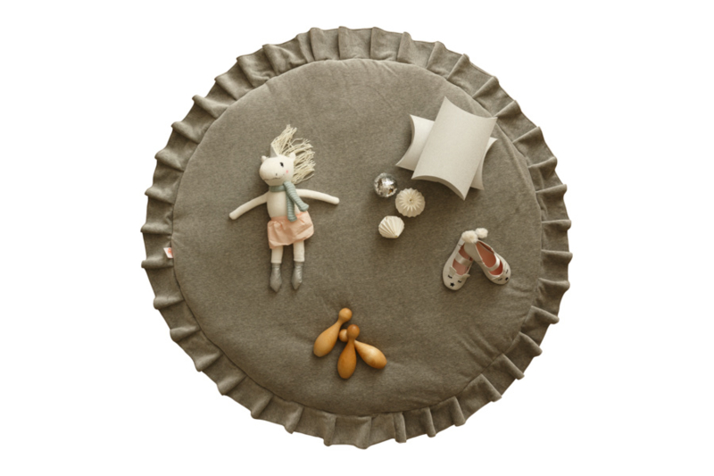 Speelmat Kinderkamer Velvet Grey