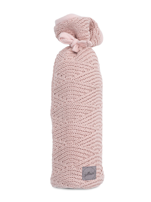 Kruikenzak River Knit Pale Pink Jollein
