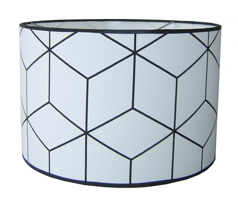 "Hanglamp Kinderkamer ""Abstract"" Black & White"