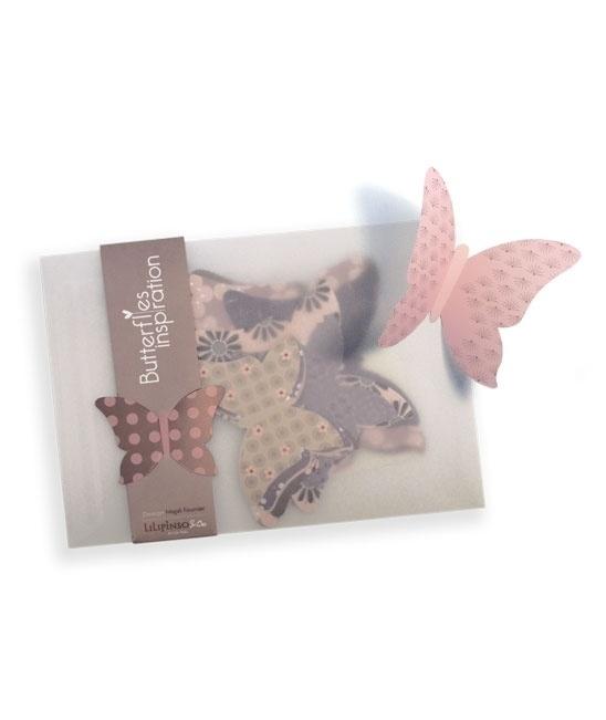 Muurstickers 3D Vlinders van Lilipinso