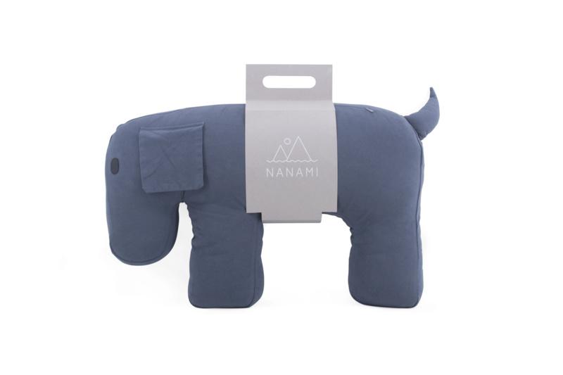 Voedingskussen Olly The Dog Grey Nanami