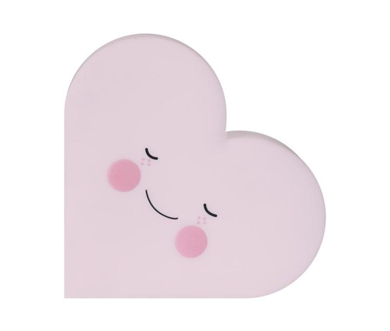 "Nachtlampje kinderkamer ""Heart Pink"" Eef Lillemor"