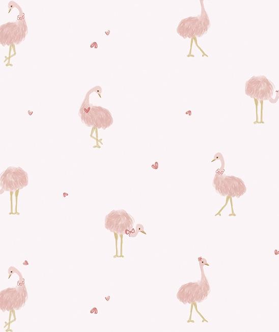 Behang Kinderkamer Pink Ladies Lilipinso