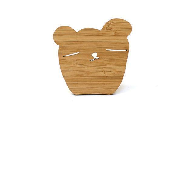 Wandhaakje Kinderkamer Bear Ted & Tone