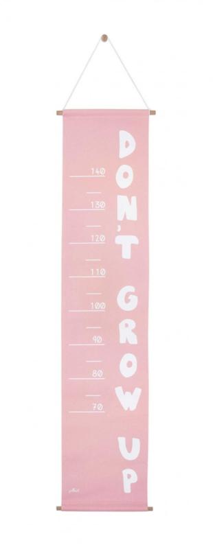 Groeimeter 70-140 cm ABC Blush Pink Jollein