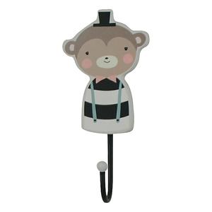 Wandhaak Kinderkamer Hout Mr. Monkey
