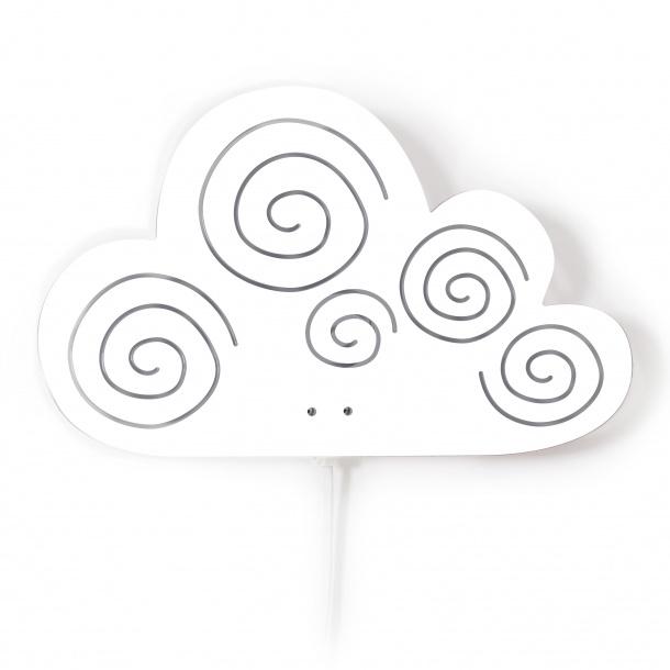 Wandlamp Kinderkamer Cloud White van Roommate