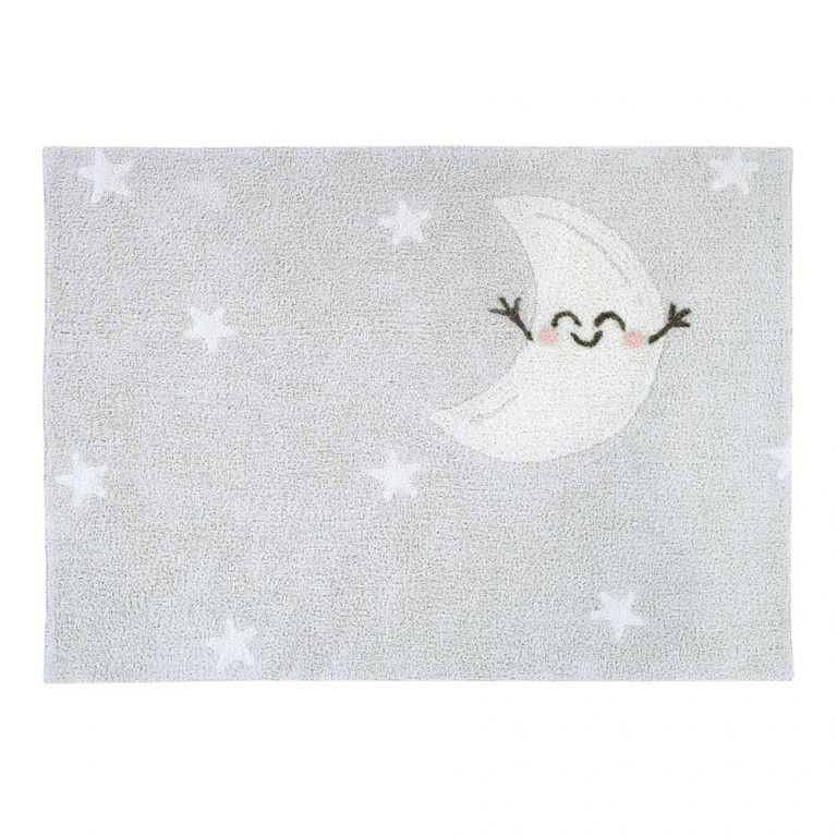 Vloerkleed Kinderkamer Mr. Wonderful – Happy Moon Lorena Canals