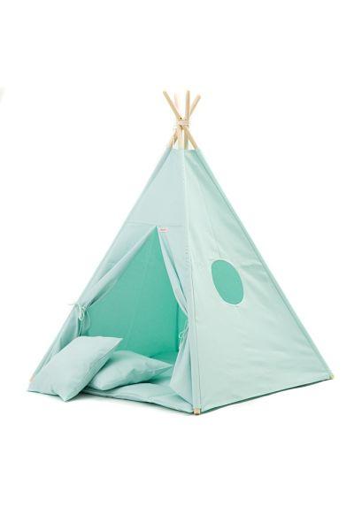 Tipi Tent / Speeltent Kinderkamer Mintgroen