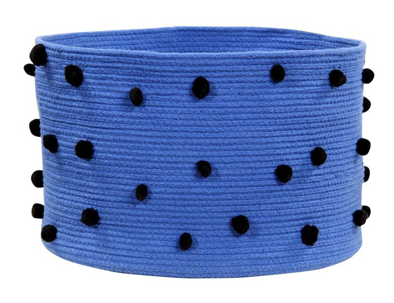 Opbergmand Kinderkamer Pebbles Blauw