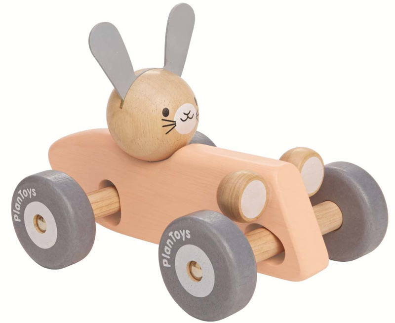 Bunny Racing Car Plan Toys