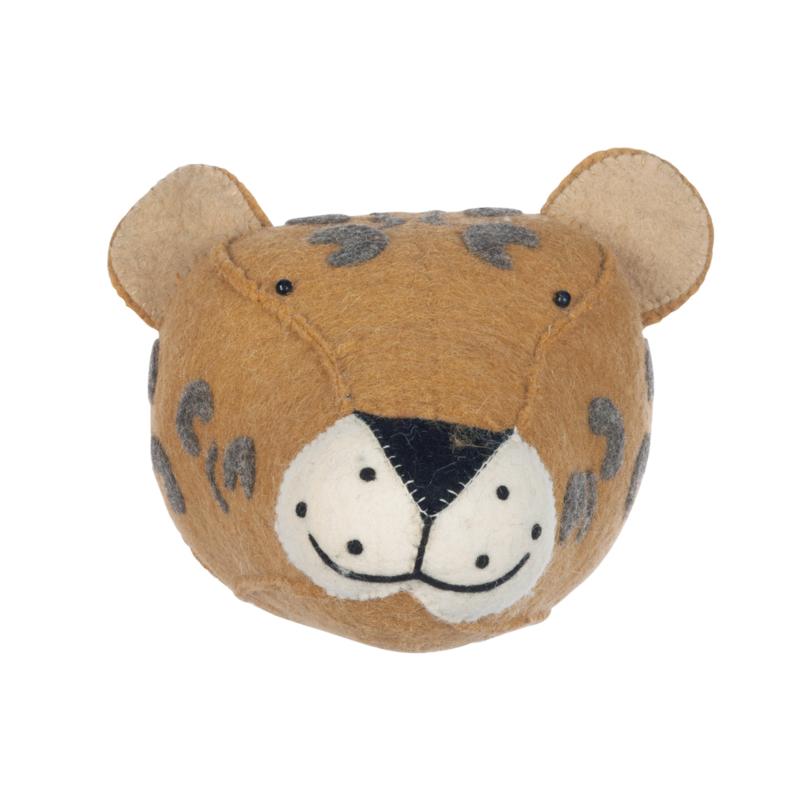Dierenkop Kinderkamer Leopard Kidsdepot
