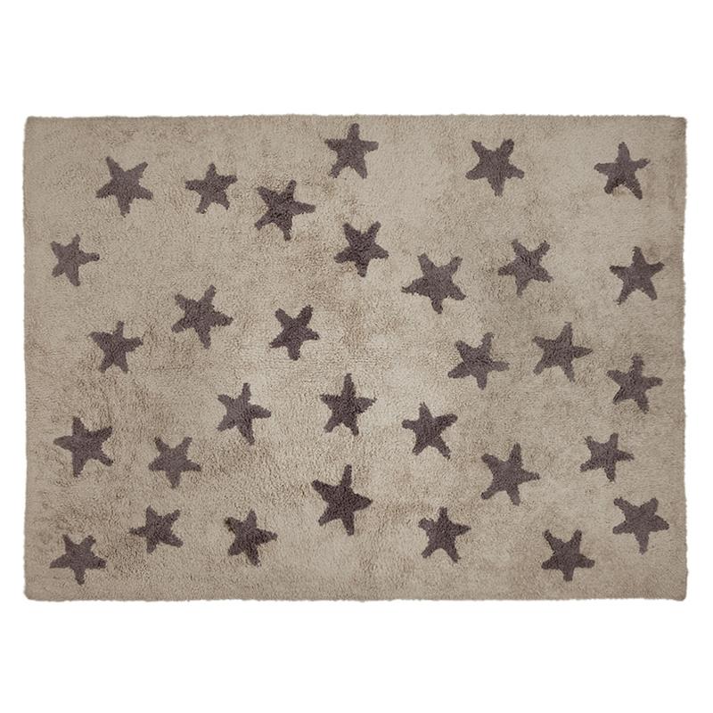 Vloekleed Kinderkamer Messy Stars Linen Grey