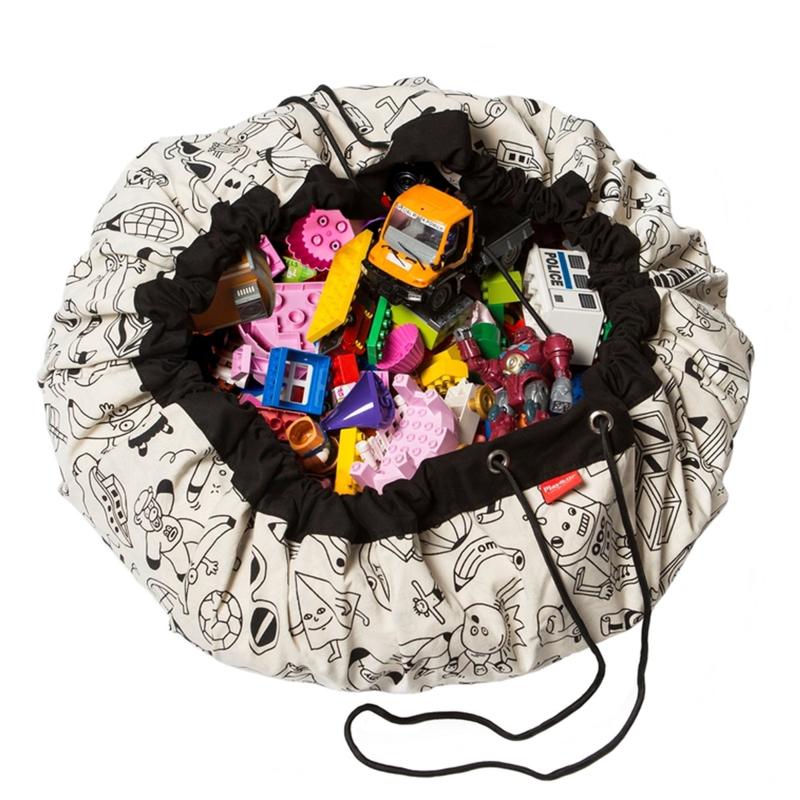 "Play & Go Opbergzak en Speelgoedkleed ""Color My Bag OMY"""