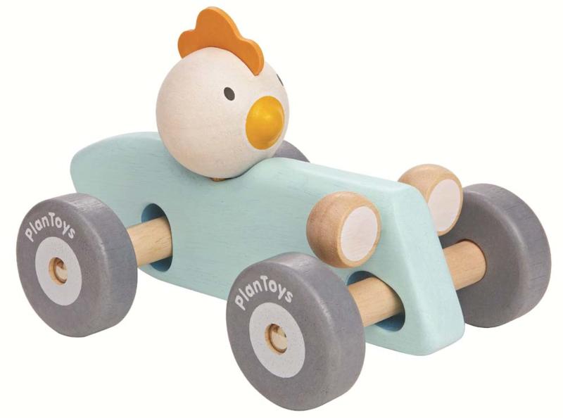 Chicken Racing Car Plan Toys