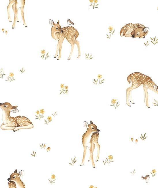Wallpaper Fawns van Lilipinso
