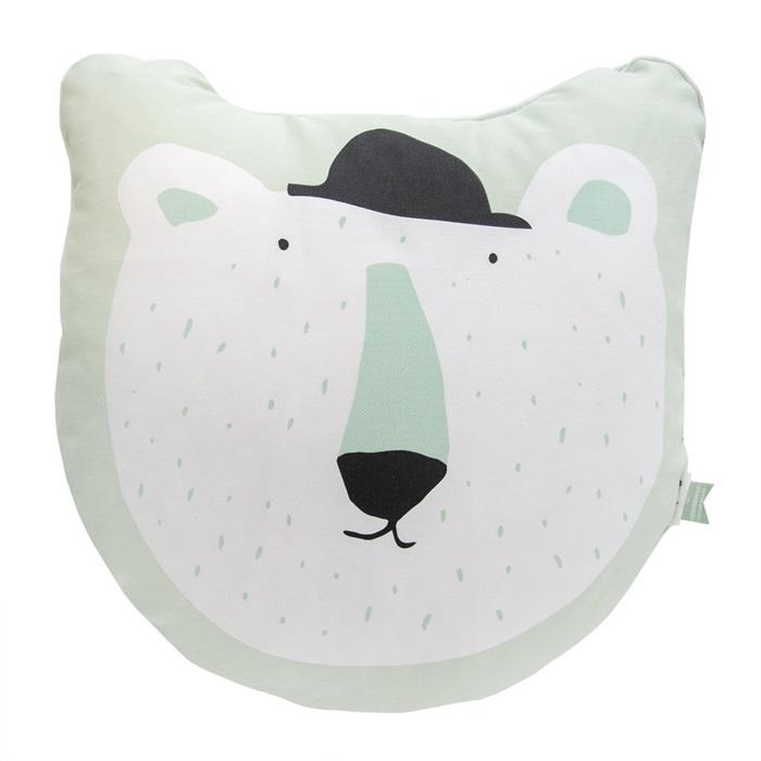 Kussen Kinderkamer Mr Polar Bear