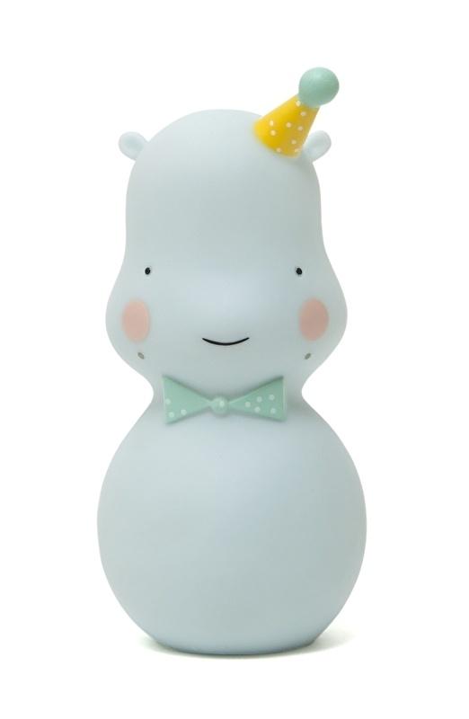 Hippo nachtlampje soft celadon Eef Lillemor