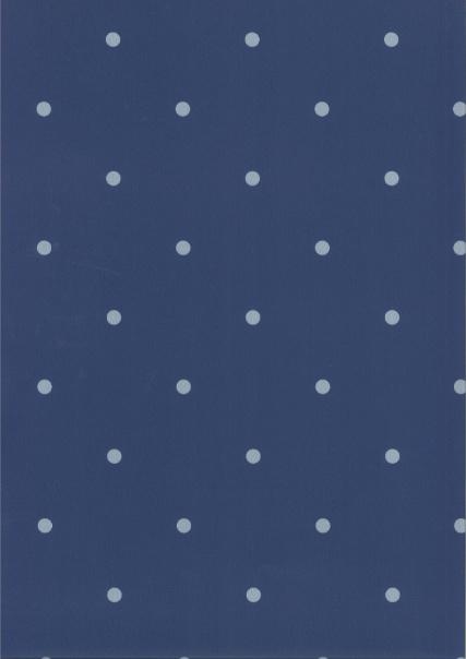 Behang Kinderkamer Dots Blauw/Grijs Fabs World