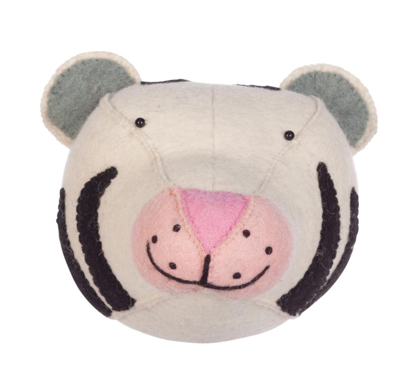 Dierenkop Kinderkamer White Tiger Kidsdepot