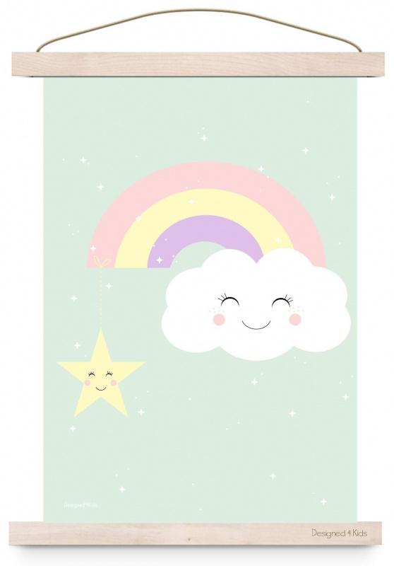 Poster Kinderkamer Rainbow