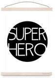 Poster Kinderkamer Super Hero