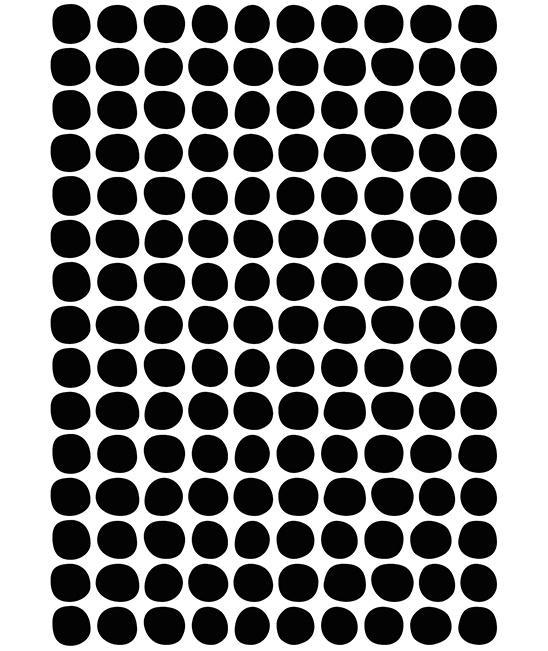 Muurstickers Kinderkamer Black Dots