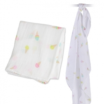 Swaddle Lulujo 120x120 - Ice Cream