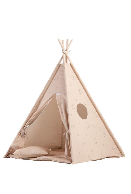 Tipi Tent / Speeltent Kinderkamer Powder Beige