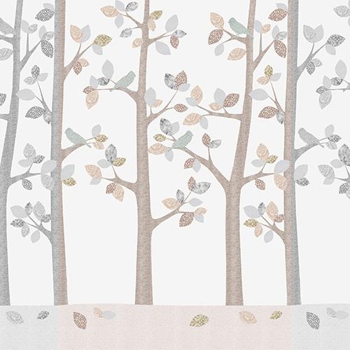 Inke XL Muurprint February Forest