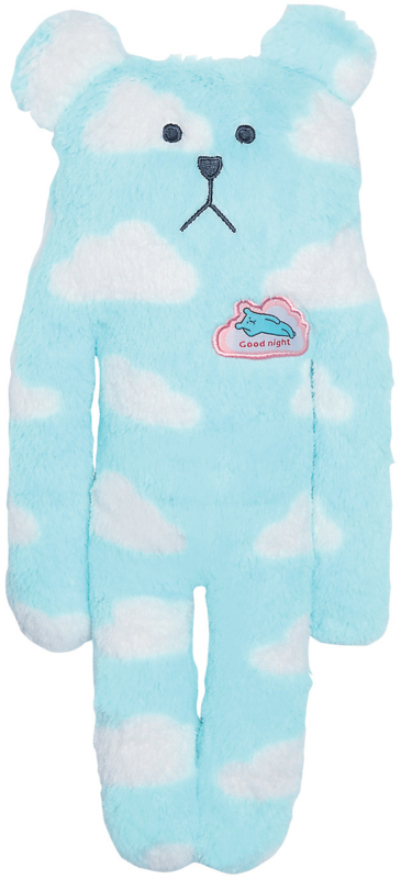 Knuffel Craftholic Bear all over clouds Small 40 cm