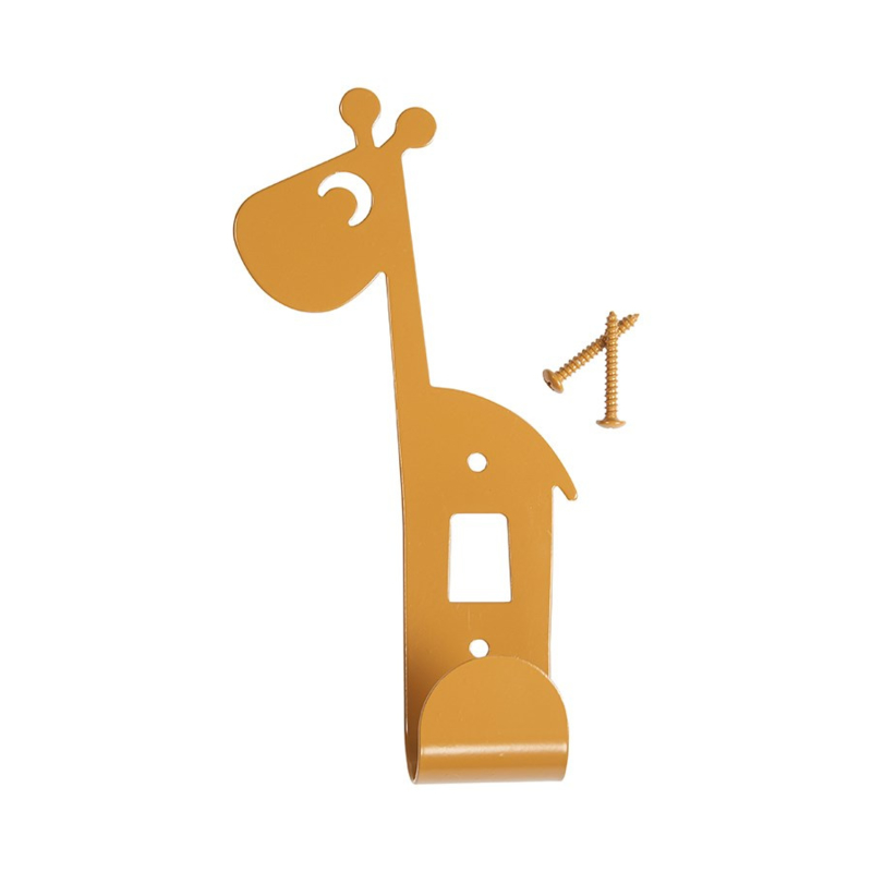 Wandhaakje Kinderkamer Raffi Mustard van Done by Deer