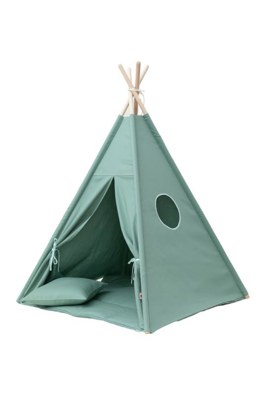 Tipi Tent / Speeltent Kinderkamer Olive Green