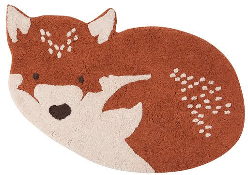 Vloerkleed Kinderkamer Little Wolf