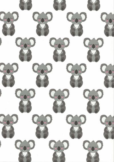 Behang Kinderkamer Koala Roze Fabsworld