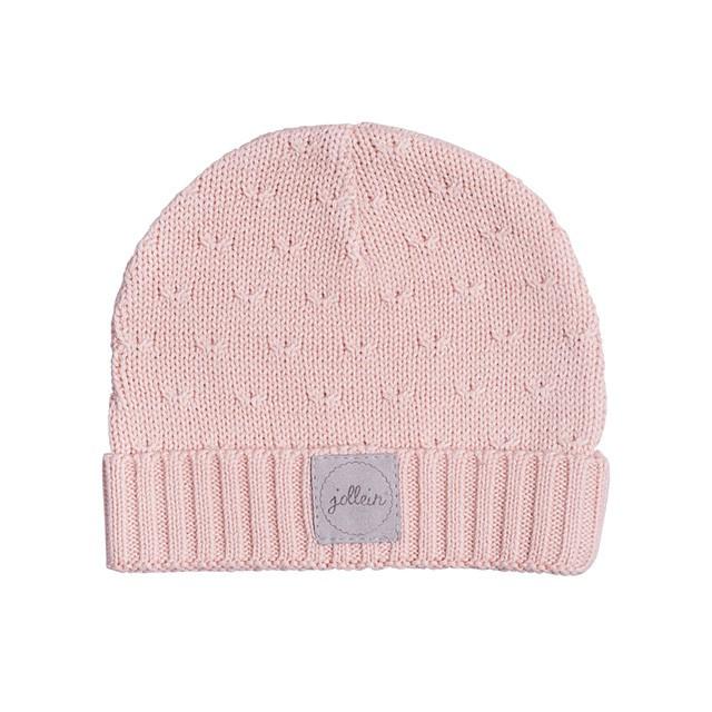 Muts 9 tot 18 mnd Soft knit Creamy Peach