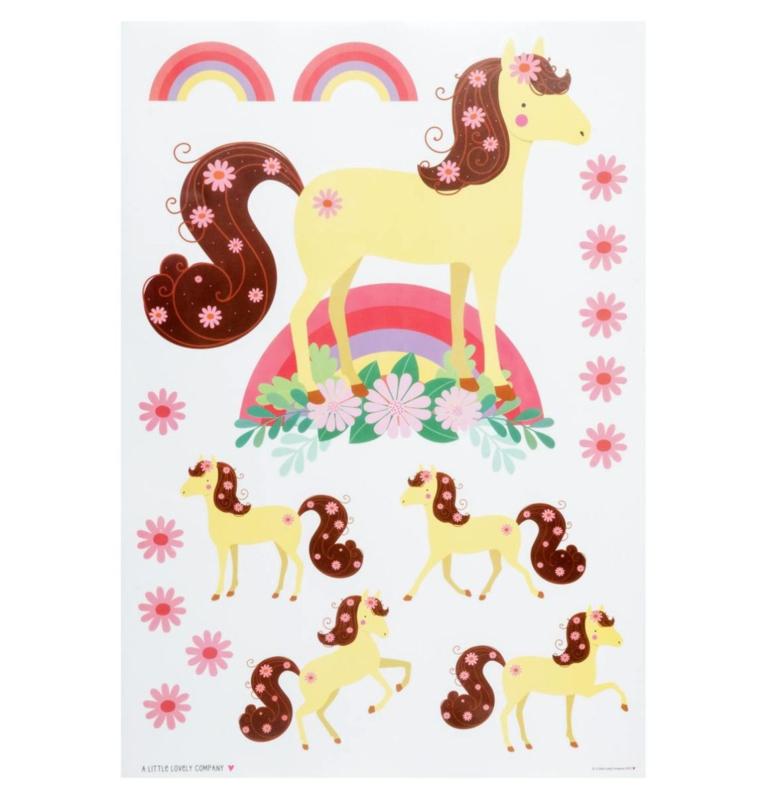 Muurstickers Kinderkamer Paard A Little Lovely Company
