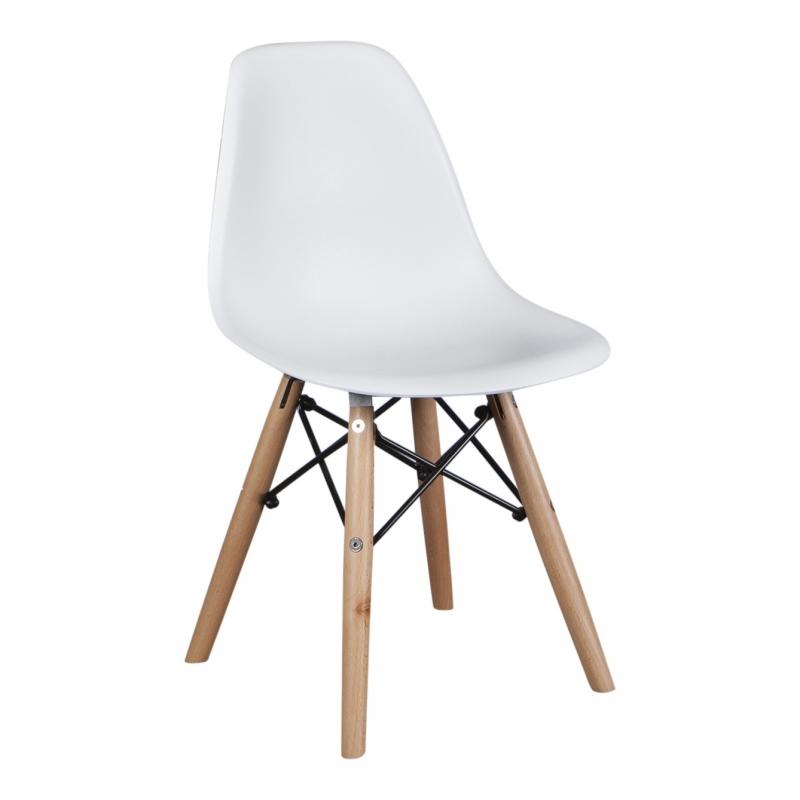 Kinderstoel Eames Wit