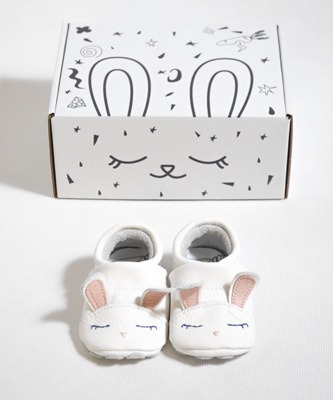 "Baby Schoentjes ""Cute Bunny"" Baby's First Shoes"