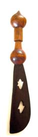 Houten zwaard, 50 cm. Ghana