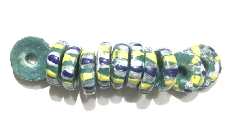 Schijfjes, groot, 1,3 cm. set van 10