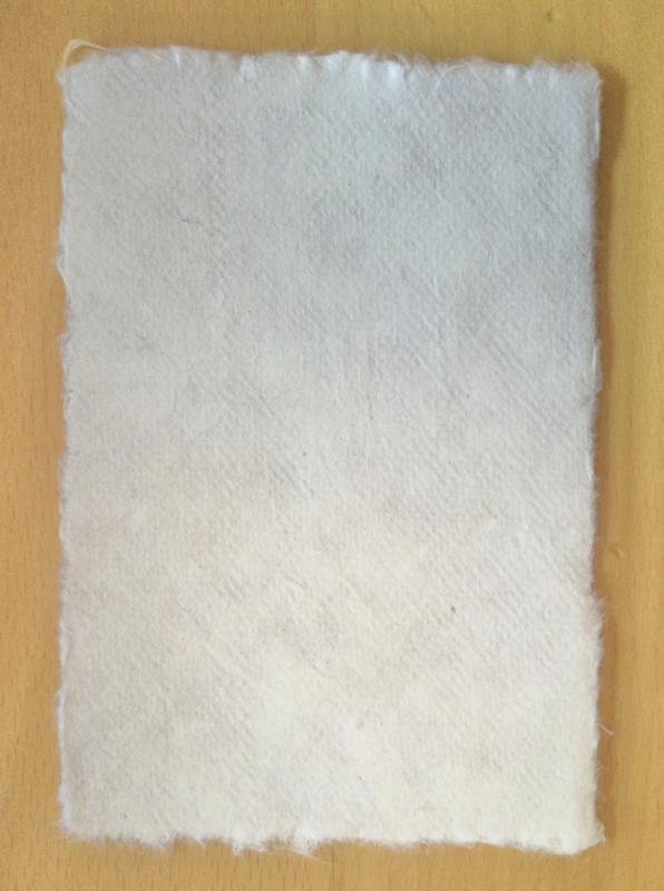 Mulberry papier. A6, ongebleekt.