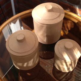 Eco shape dozen, rond, hoog, set van 3