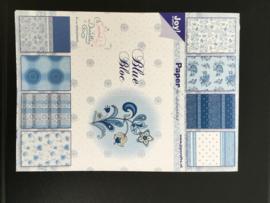 Joy Crafts paper bloc Blue
