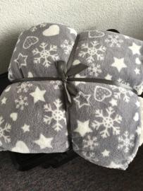 Lekkere warme fleece deken