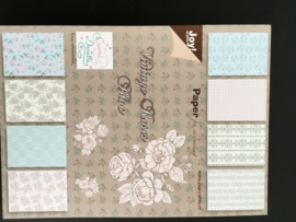 Joy Crafts paper bloc vintage roses